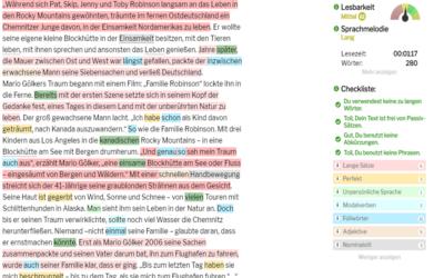 Wie hilfreich sind Textanalyse-Tools?